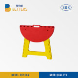 Sturdy Plastic Mixed Color Foldable Stool