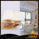 Cheap Wholesale Wood Living Room Wall Lamp for Hotel (KAW1014)