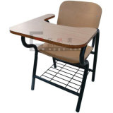 School Furniture Plywood Writing Table/ Pad/ Tablet School Chair
