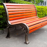 Park Customised Wood Garden Bench Chair with Cast Iron Legs/Bench