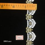 5cm Craft Lace, Gold Indian Lace, Embroidery Border, Craft Lace, Saree Border, Tribal Boho Lace, Embroidered Trim Hme856