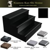 Cheap/Affordable Absolute Black Granite Stair with Antislip