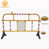 Road Crash Barrier Construction Reflective Yellow Road Safety Plastic Guardrail