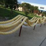 Braided Playground UHMWPE Hmpe Steel Wire Rope + FC/Iwrc for Fishing