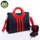 378e0cc9f3 Color Collision Lady Shoulder Bag Handbag with Two Strap Sh849