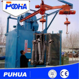 Double Hanger Type Shot Blasting Machine Hook Type