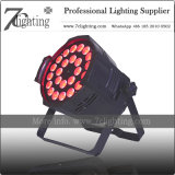 High Power LED PAR Light 24X18W Stage Spot Lighting RGBWA UV LEDs
