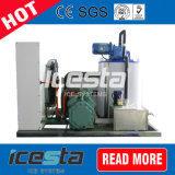 5000kg/Day Water Cooled Flake Ice Maker with PLC Controller