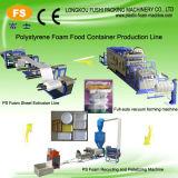 Cheap Semi-Automatic PS Foam Fast Food Box Forming Machine