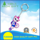 Wholesale Customized Cheap Soft Rubber Soft PVC Key Chain Holder with Logo