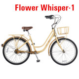 Tdjdc Charming Design City Bike/Ladies Travel Leisure Bicycle