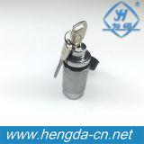"1/2""&5/8"" Interchangable Receiver Deadbolt Trailer Hitch Lock (YH9004)"