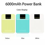 Mobile Phone Charger Power Bank with 6000mAh Battery Computer Power Supply