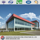 Multi Floor Prefab Building with Light Steel Frame