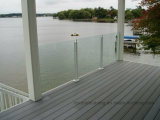 Outdoor Glass Railing Decorative Balustrade
