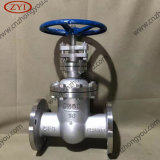 DIN Cast Steel Ce Non Rising Stem Gate Valve