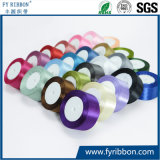 Polyester Satin Ribbon Decorative Textile Tape with 198 Colors