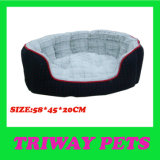Warm Jacquard House Style Pet Bed