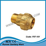 Brass Compression Fitting for PE Pipe (F07-101)