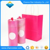 Custom Round Tube Box Gift Set with Paper Bag