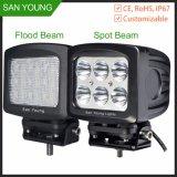 LED Driving Light 7inch 60W Waterproof 12V 24V LED Jeep Truck ATV, Ute SUV Lighting