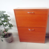 China Factory Wholesale Classical Wooden Shoe Storage Cabinet