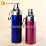 Thermos Stainless Steel Flask Cup with Plastic Lid