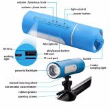 2018 New Fashion Design LED Flashlight Bluetooth Speaker