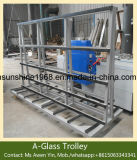 Top Quality Glass Trolley-Harp Rack / Insulating Glass Trolley