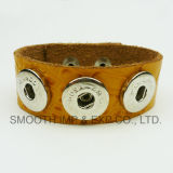 Soft Leather Snap Button Bracelets Multicolor Fashion Jewelry Accessories