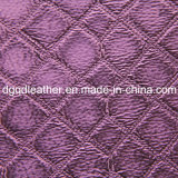 Fashion Quilting Decoration Furniture Leather (QDL-51376)