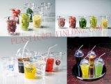 Six Colors Plastic Coffee Cup Printer