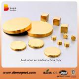 N35 Golden Round Neodymium Permanent Magnet Price