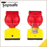4PCS LED Solar Power Warning Light for Traffic