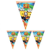 Wholesale High Quality Customized Polyester Fabric Bunting Flags