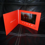 7inch Touch Screen Video Greeting Card Brochure Printing