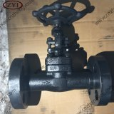 China Wholesale Factory A105 Lf2 Integral Flange Forged Steel Gate Valve