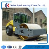 Road Roller with Fully Hydraulic Single Drum Vibratory Roller