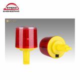 Solar Flashing Barricade Lamp / Yellow Warning Lamps / Solar Traffic Light