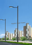 Galvanized Polygonal/Octagonal/Round Tapered Lamppost Lamp Post Lantern Pole