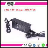 12V 6A 72W LED Driver, DC12V 72W Adapter 72W 6AMPS LED Power Supply AC/DC Adapter