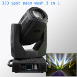 350W 17r Beam Wash Spot 3 in 1 Moving Head Lighting