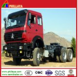 6*4 8*4 Sinotruck Shaman Beiben Military Prime Mover Tractor Head