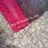 Embossed Polyester Velvet Suede Printed for Home Decoration