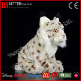 ASTM Stuffed Animal Eurasian Lynx Soft Plush Toy for Kids/Children