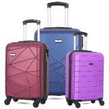 China Factory Cheap Promotional Travelling Trolley Travel ABS Plastic Suitcase Hardside Luggage Bag