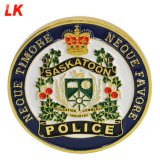 Cheap Custom Double Side Metal Gold Plating Challenge Police Coin