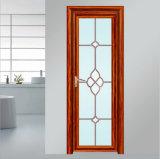 Beautiful Pattern Design Aluminium Casement Restroom Door for Interior Cheap Interior Doors