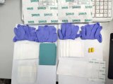 Nonwoven SMS Sheet Drape Crs Wrap Paper Kit Pack Supply with FDA, Ce, ISO