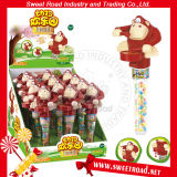 OEM Promotional Zoo Drum Monkey Plastic Sweet Toy Candy